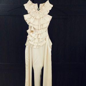 Philip Lim 3.1 Cream Satin Dress
